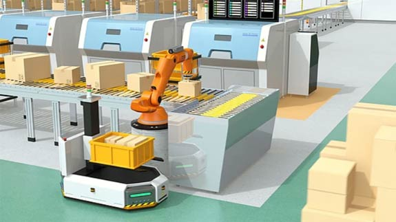 Greater Demand For Automation Boosts The Robotics Market