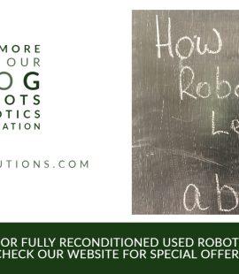 how do robots learn